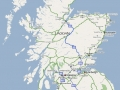 Scotland Major Roadways