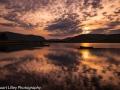 Sunset Over Spey Dam